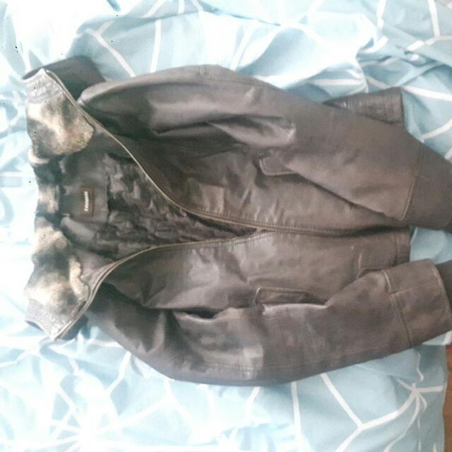 Danier Leather Jacket Xs