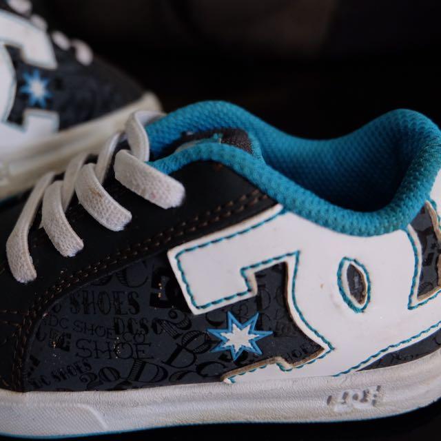 Dc Shoes Size Us 8/ Uk 7 / Eur 24 / 14 Cm