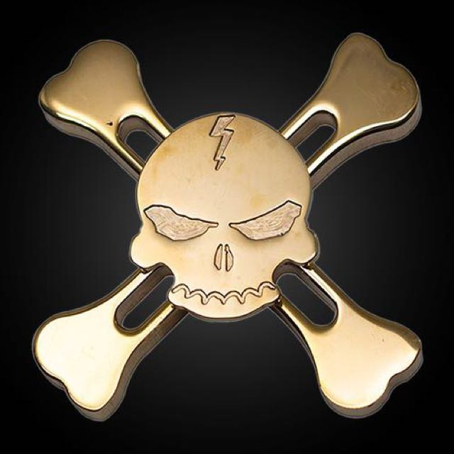 Death Skull Spinner