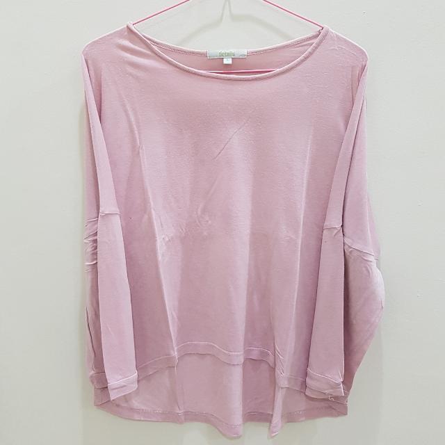 DETAILS T-shirt Pink