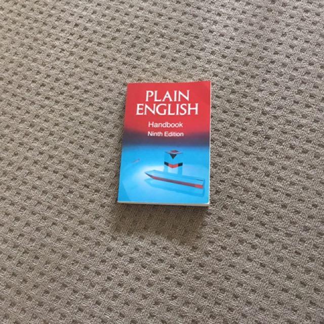 English Grammar Rule Book