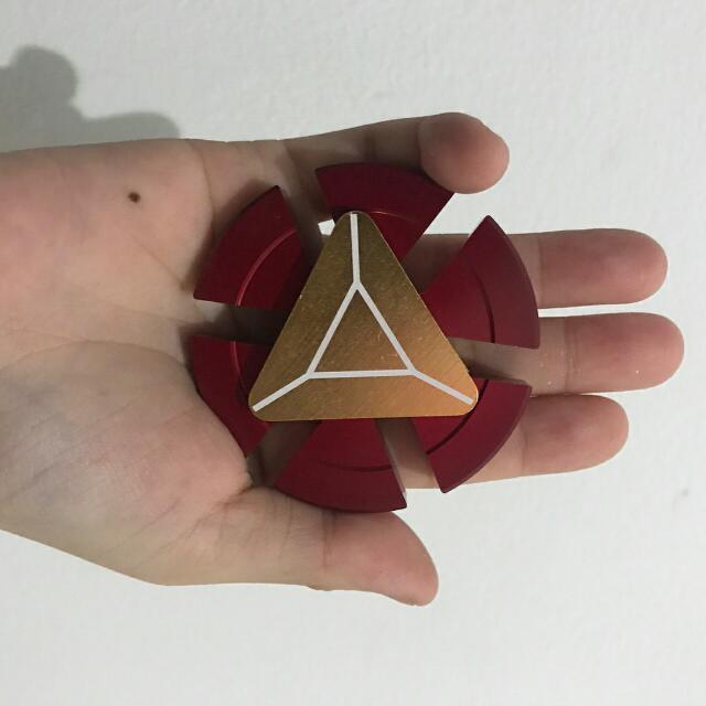 Fidget Spinner Iron Man