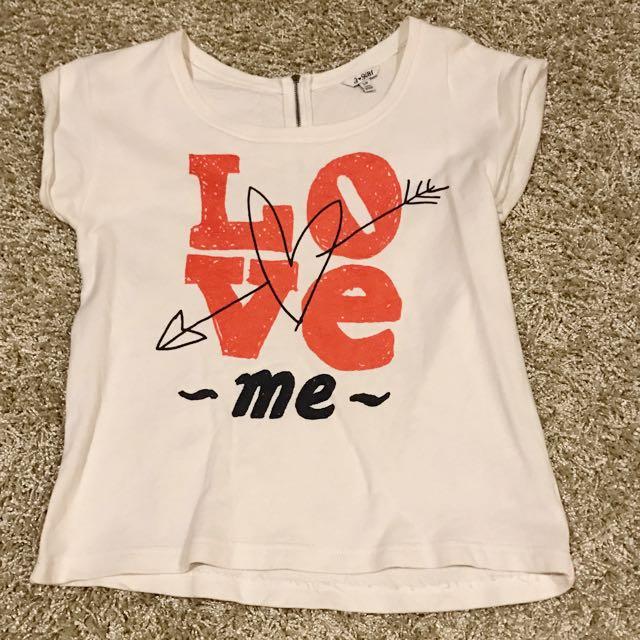 Forever 21 Love Me Shirt
