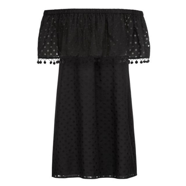 French Connection Pom Pom Dress