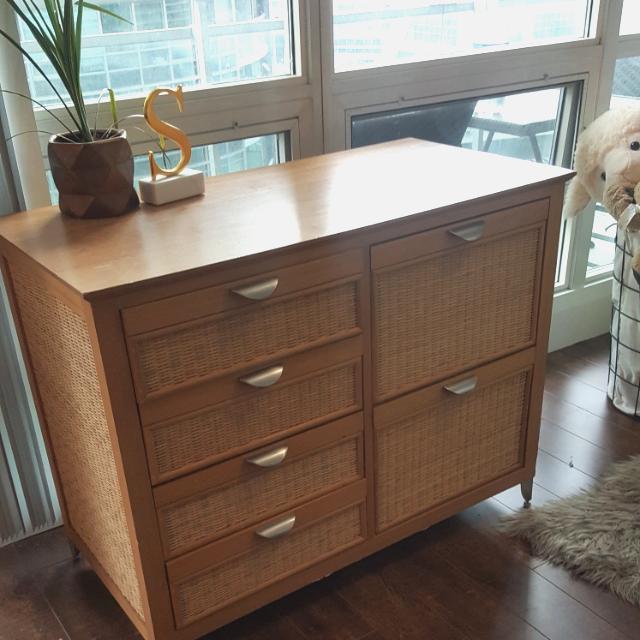 Modern Wood Dresser
