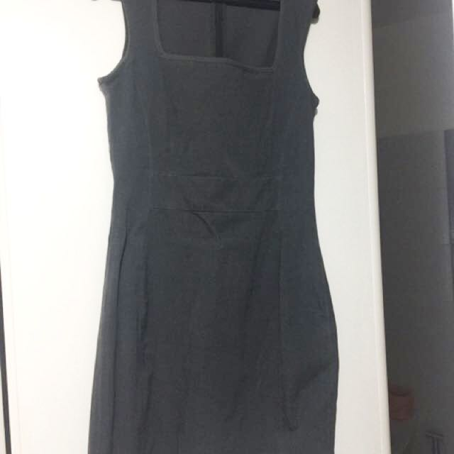 grey bodycon dress (repriced)