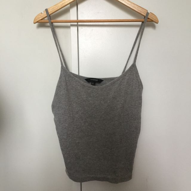 Grey Glassons Singlet