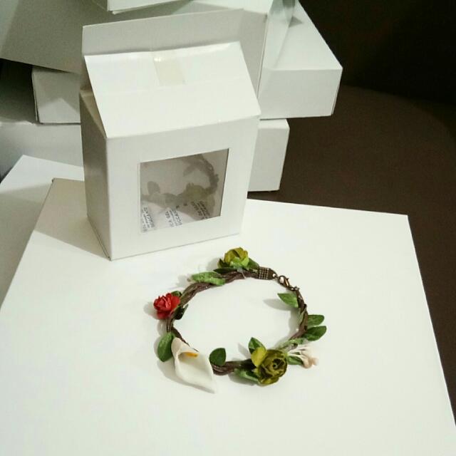 Handmade Flower Bracelet