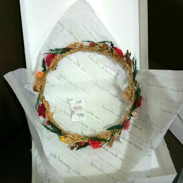 Handmade Flower Headband 003