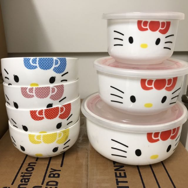 Hello Kitty Bowl Set. All For $20