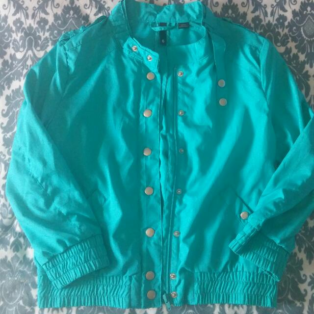 H&M Teal Jacket