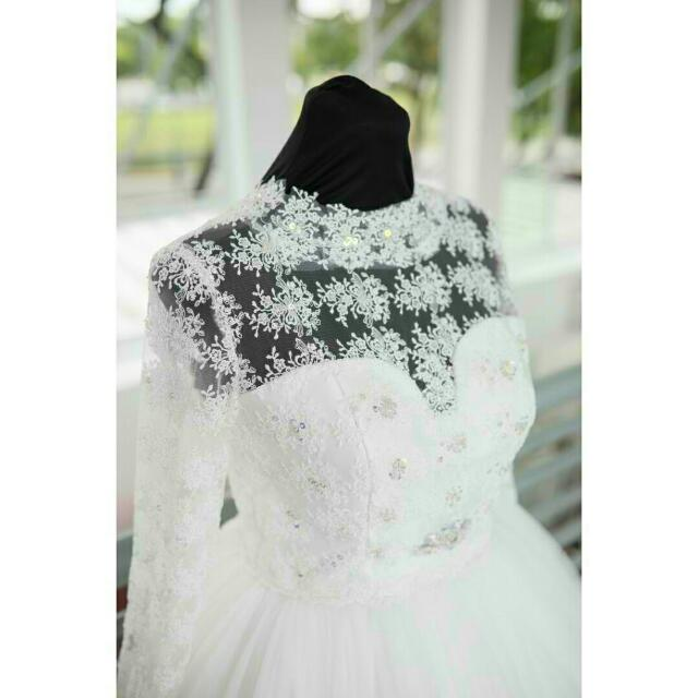 Imported Korean Wedding Gown
