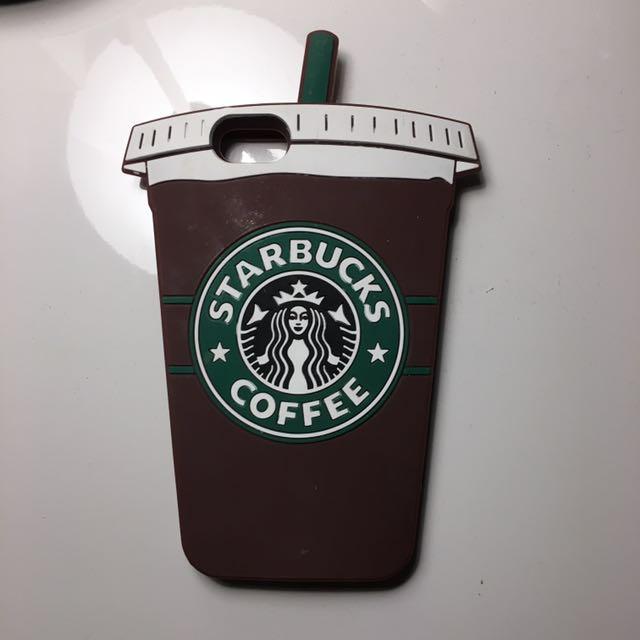 iPhone 6 Silicon Starbucks Case