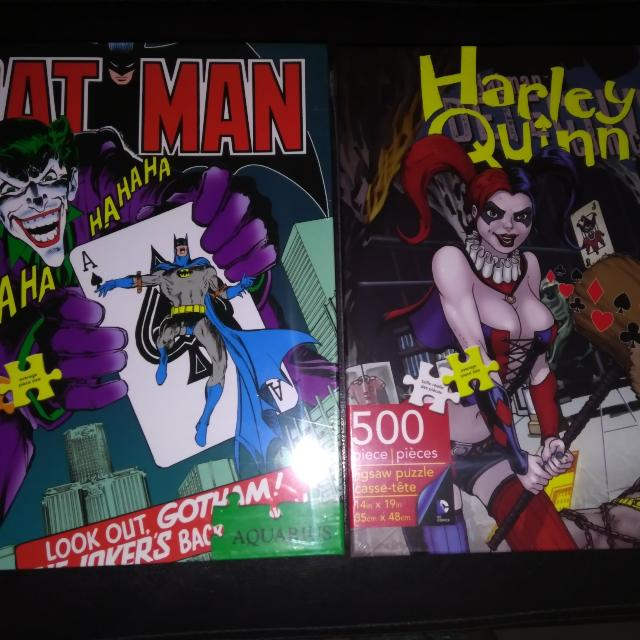 Joker And Harley Quinn 500 Piece Puzzles