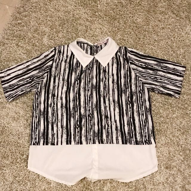 Khloe's Abstract Shirt