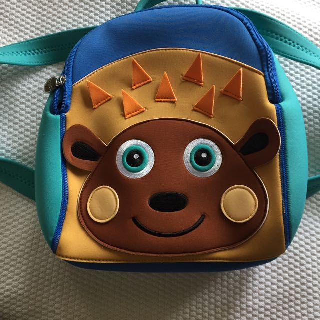Kids Hedgehog Backpack