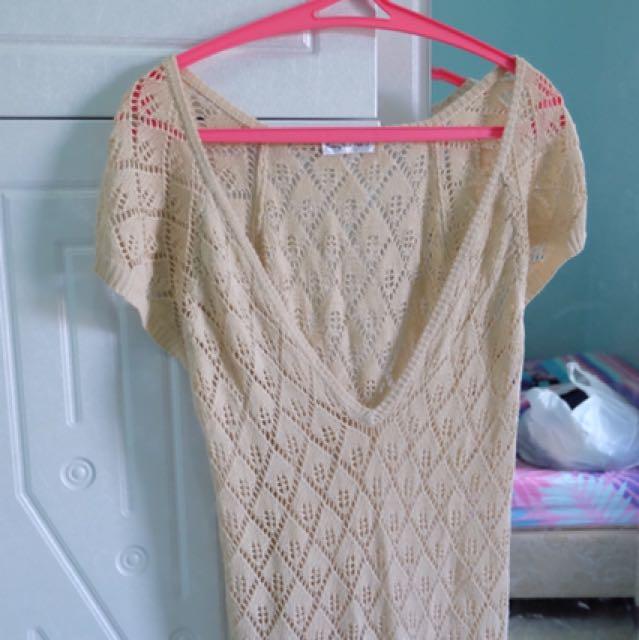 Knit Bikini Dress