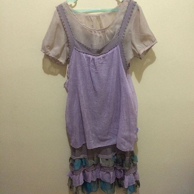 Korean Cutie Dress (Inned And Outer)