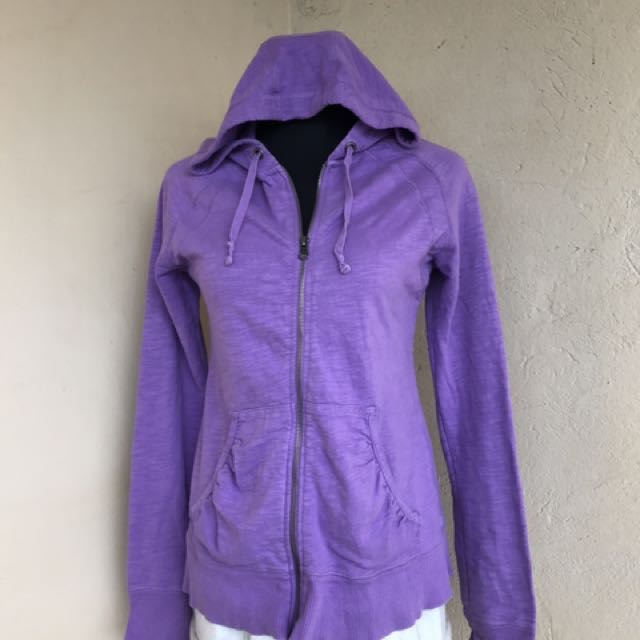 Ladies Full Zip Hooded Cardigan