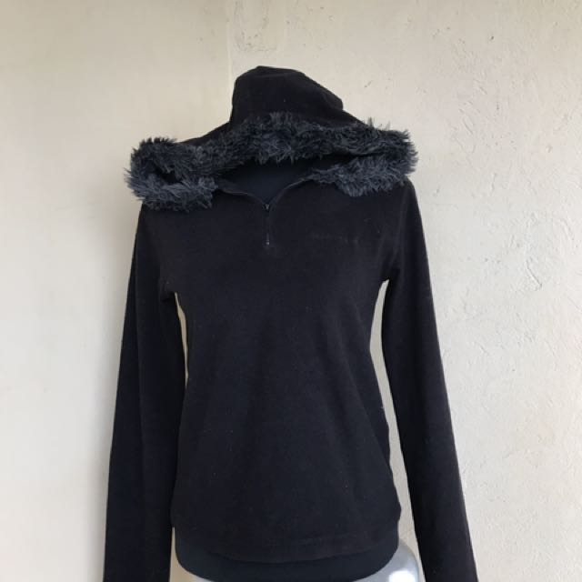 Ladies Hooded Pull Over