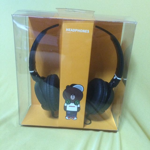 Line 熊大頭戴式耳機