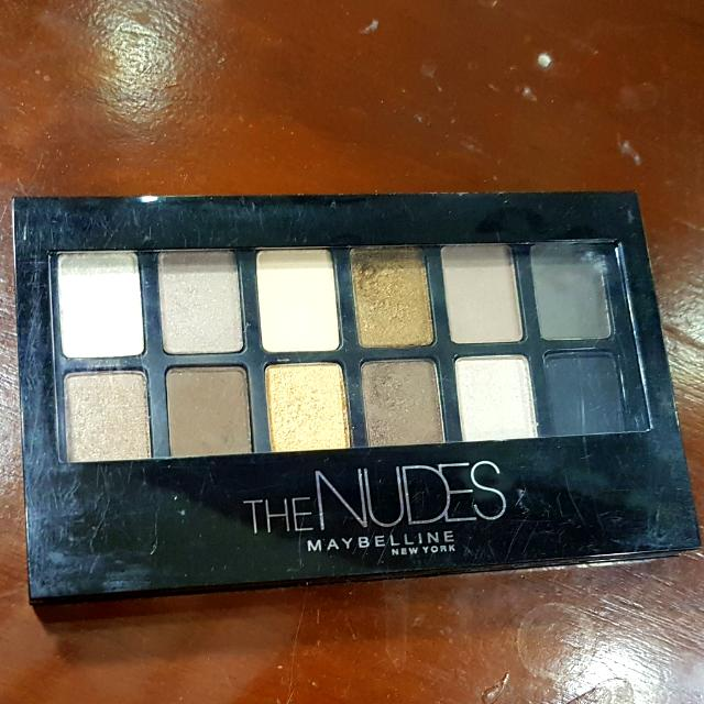 MAYBELLINE Eye Shadow Pallete The Nudes