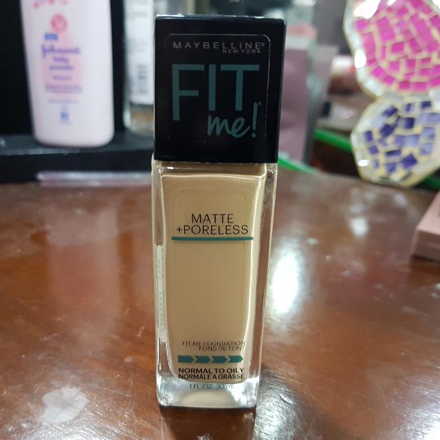 MAYBELLINE Fit Me Matte & Poreless Foundation Shade No. 128 (Warm Nude)