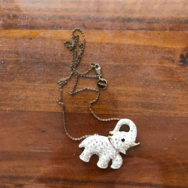 MIMCO ELEPHANT NECKLACE