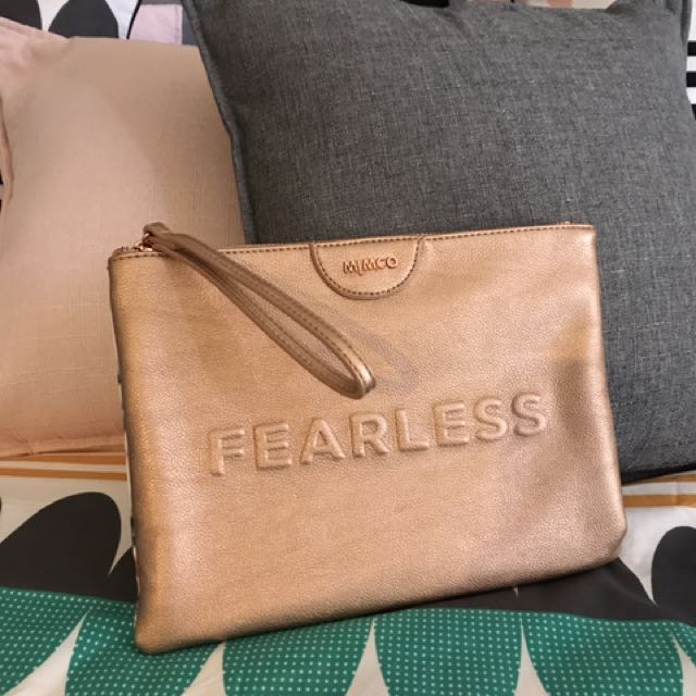 Mimco Fearless Our Watch Pouch With Bonus