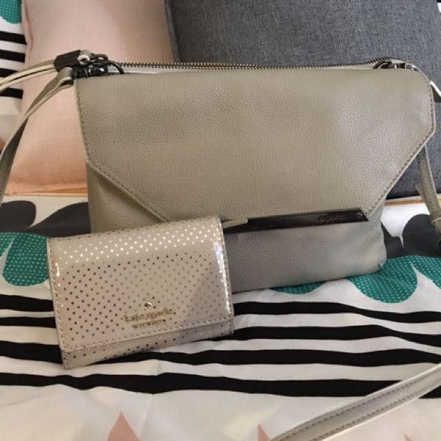 Mimco Origami Duo Hip With Bonus KS Purse