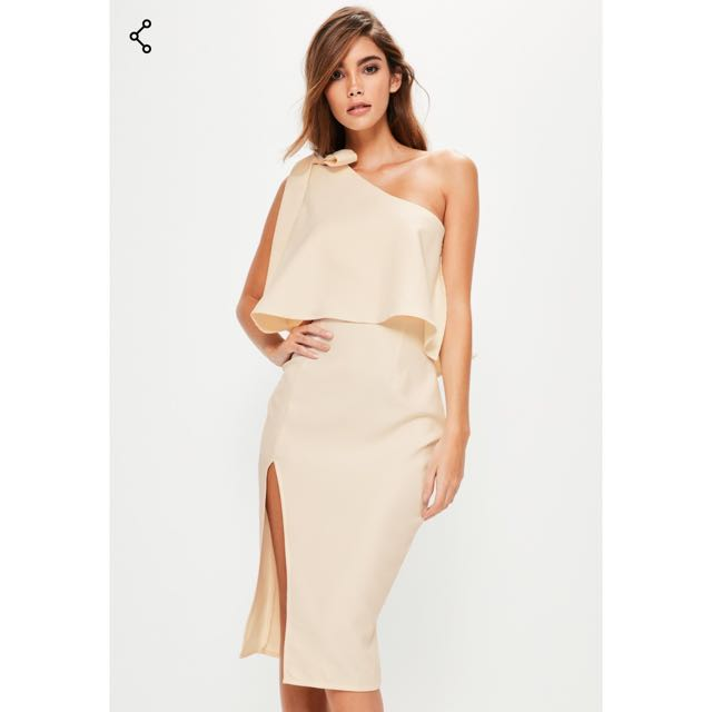 MISSGUIDED One Shoulder DRESS
