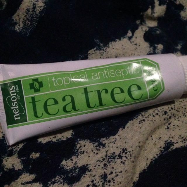 Obat SALEP Jerawat Nelsons Tea Tree