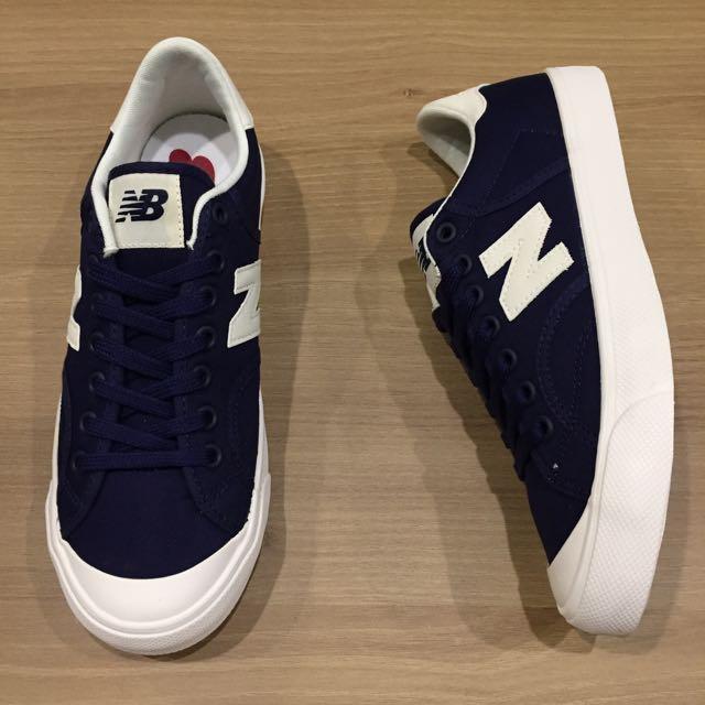 new balance 復古 帆布鞋 情侶鞋 藍 白 N字鞋 韓系 全新 正品 現貨