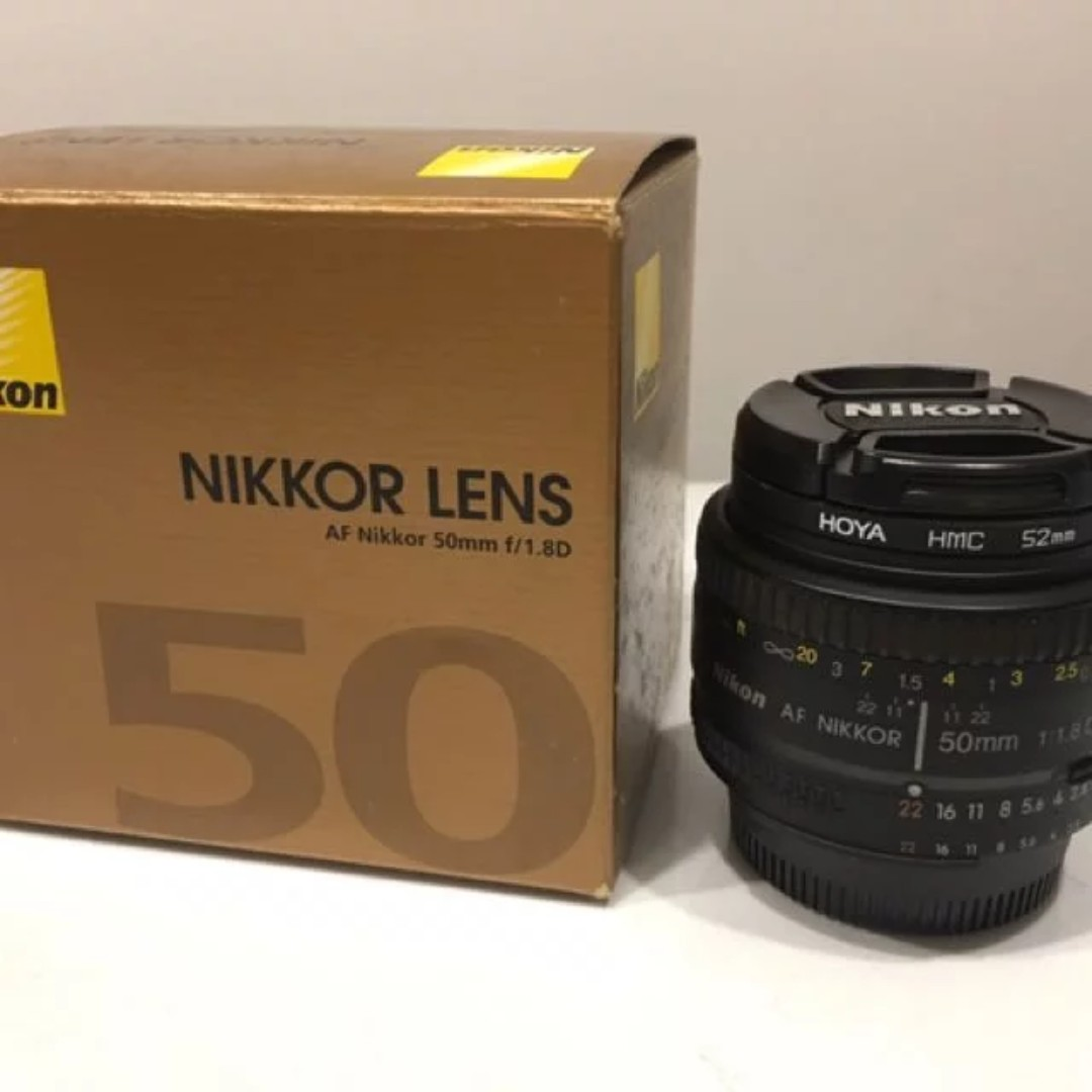 Nikon 50mm F18 Af D Lens Very Sharp Made In Japan Photography On Carousell