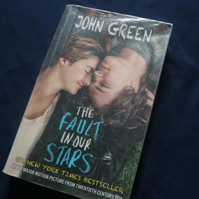 novel the fault in our star