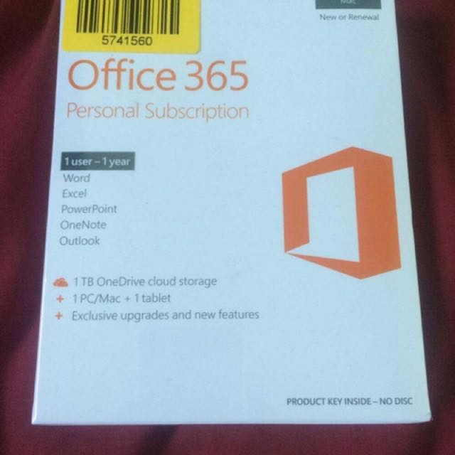 Office 365 Personal Subscription (repriced!)