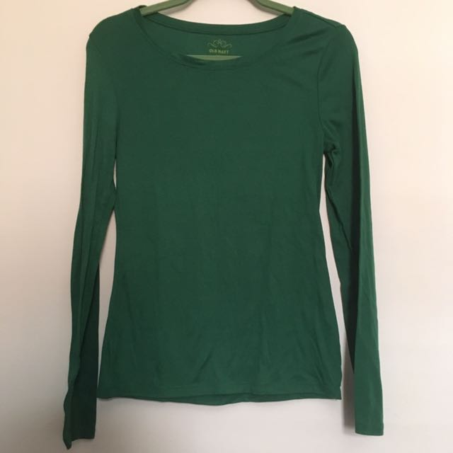 Old Navy Green Long Sleeve