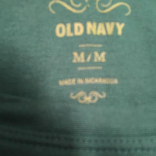 Old Navy Green Long Sleeve