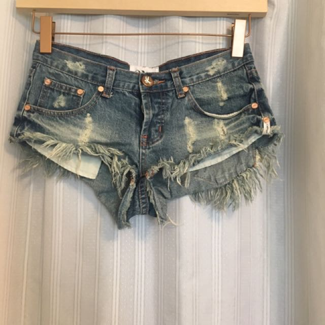 Oneteaspoon Distressed Shorts