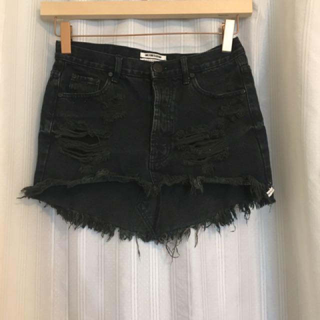 Oneteaspoon Distressed Skirt