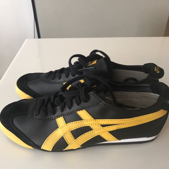 huge discount 82925 2ce44 Onitsuka Tiger Mexico 66 Black / Yellow, Men's Fashion ...