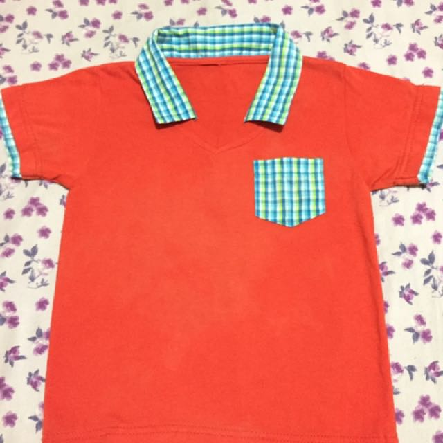OrangeRed Polo Shirt