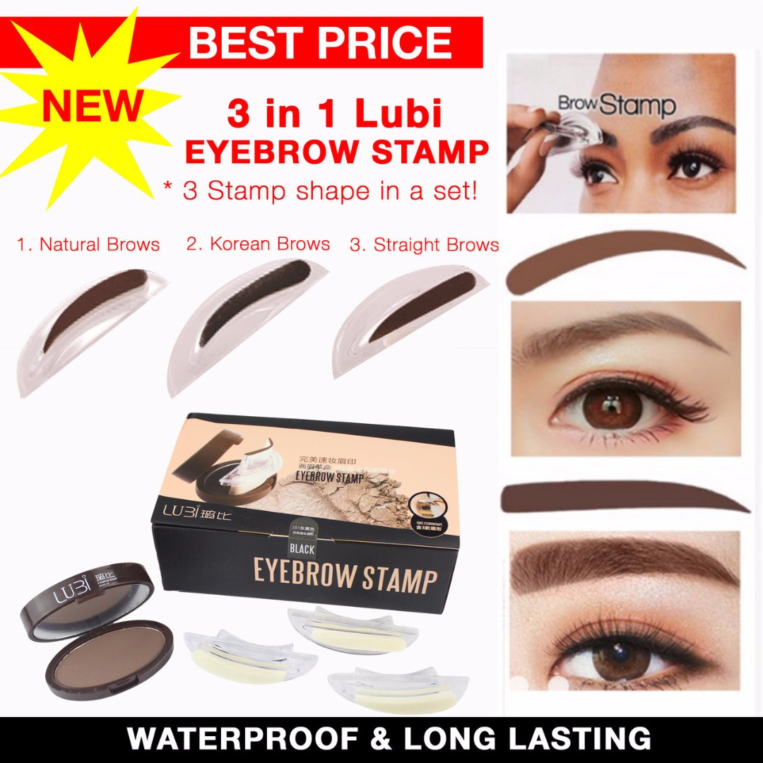 Original 3-in-1 Lubi Eyebrow Stamp