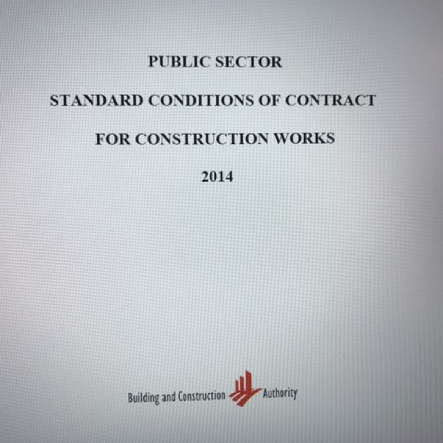 Psscoc Form Of Contract For Construction Works Design Build