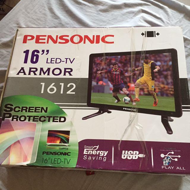"""Pensonic 16"""" LED TV Repriced"""
