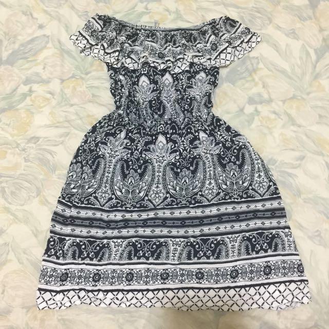 Preloved Avenue Off Shoulder Dress for Summer