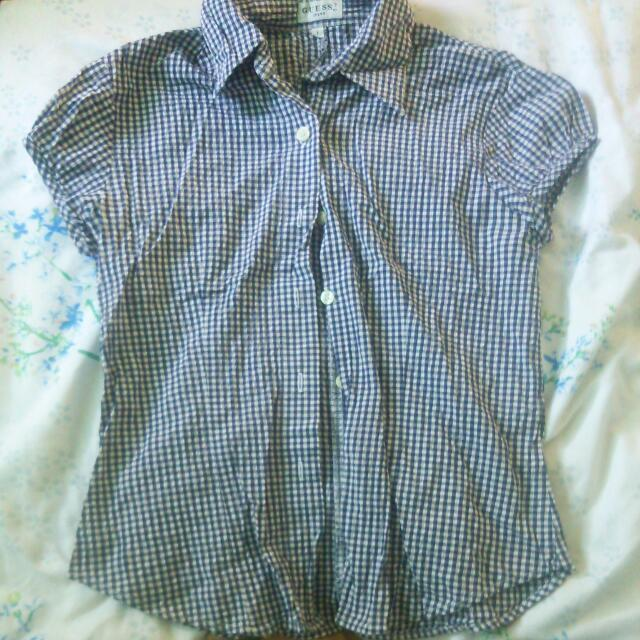 Preloved Guess Polo Shirt