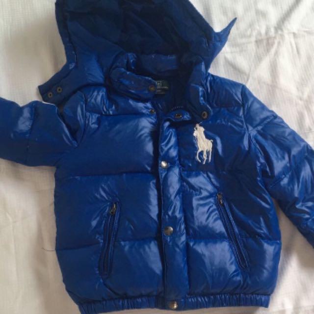ec3ca5102 Preloved Polo Ralph Lauren Winter Jacket 3 3T Boys  72 Weekend Offer ...