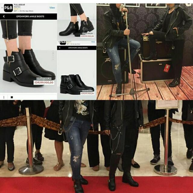 6c280bbcb Pull And Bear Boots, Olshop Fashion, Olshop Wanita on Carousell