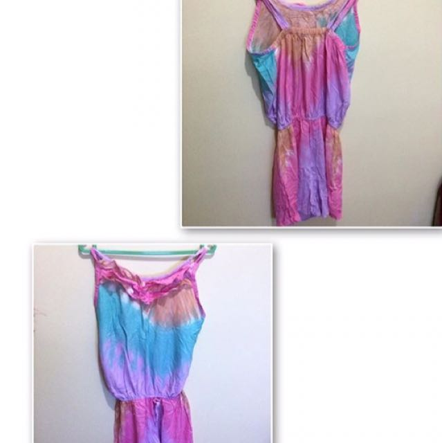 Rainbow Short Jumpsuit